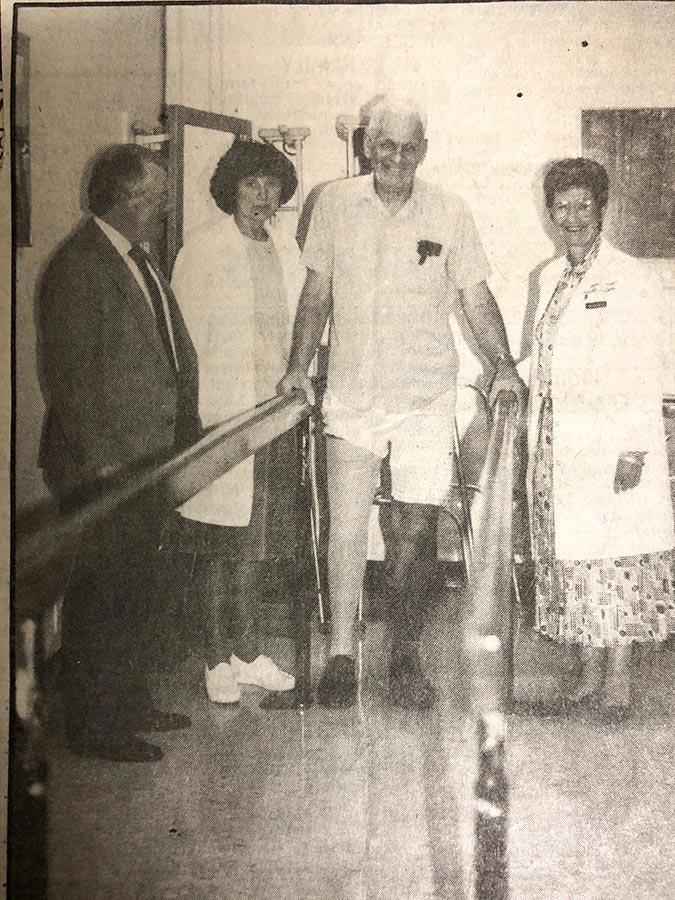 History of Hayes Prosthetics, Walking with a prosthetic leg
